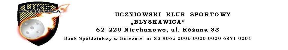 The Official Website Uczniowskiego Klubu Sportowego Błyskawica w Niechanowie